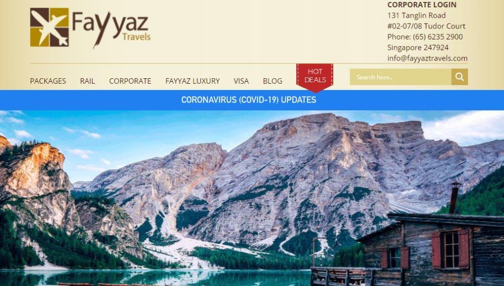 Fayyaz Top Travel Agencies in Singapore