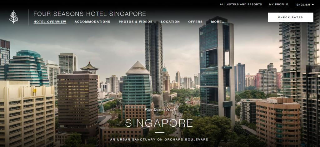 Four Seasons Top Hotels in Singapore