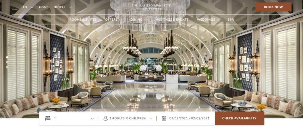 Fullerton Bay Top Hotels in Singapore