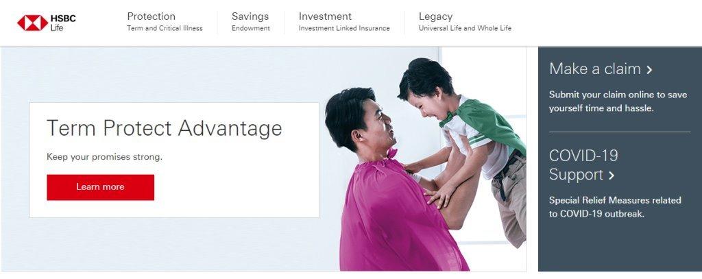 HSBC Top Insurance Companies in Singapore