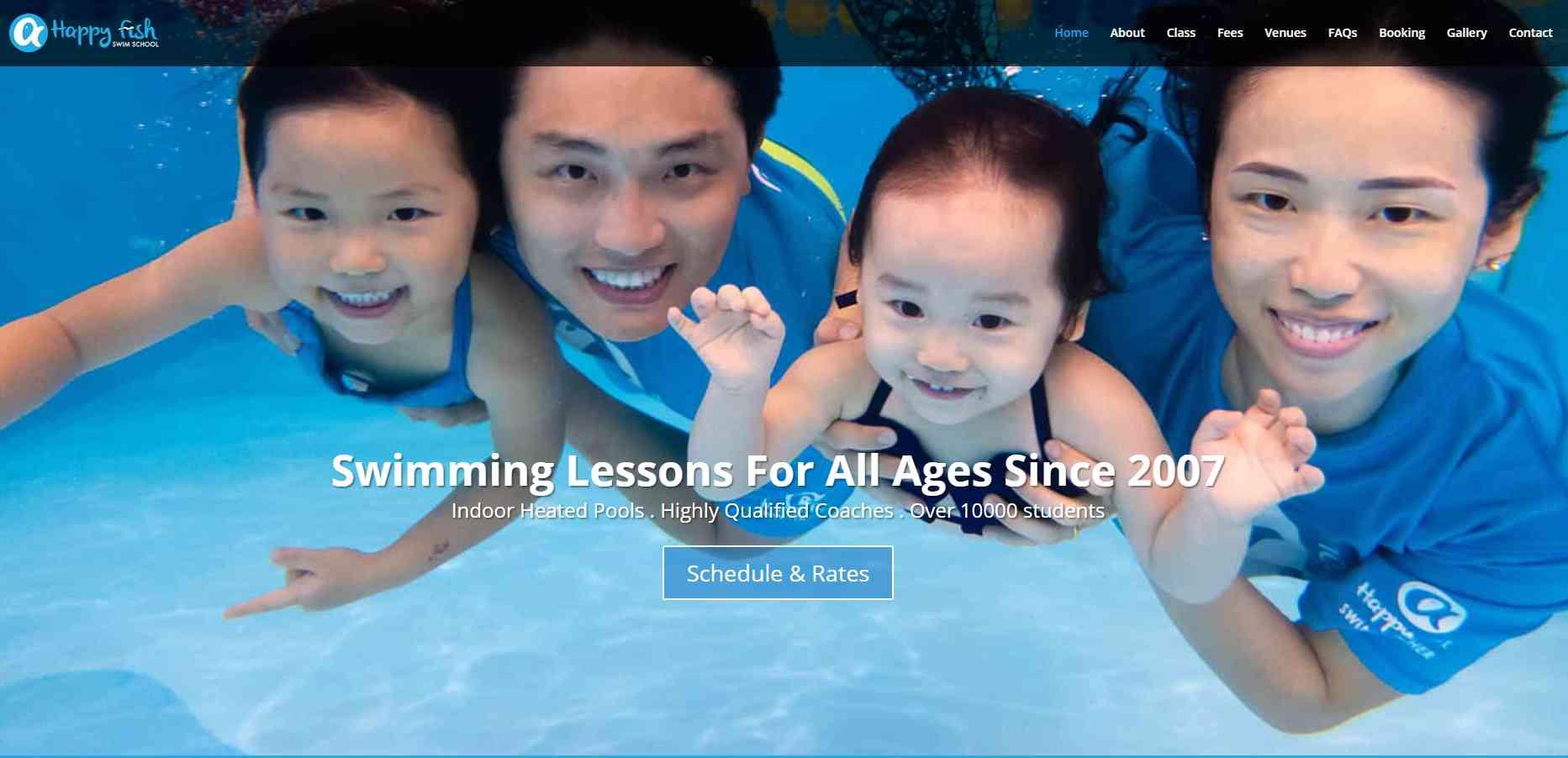 Happy Fish Top Swimming Schools in Singapore