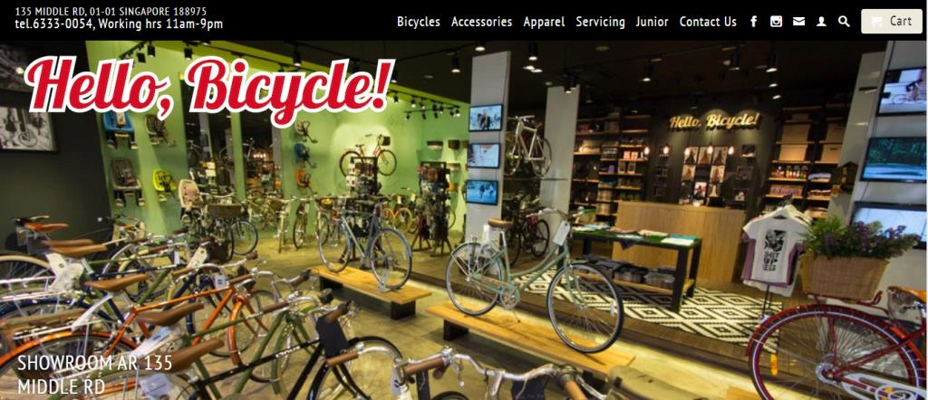 Hello Bicycle Top Bicycle Shops in Singapore