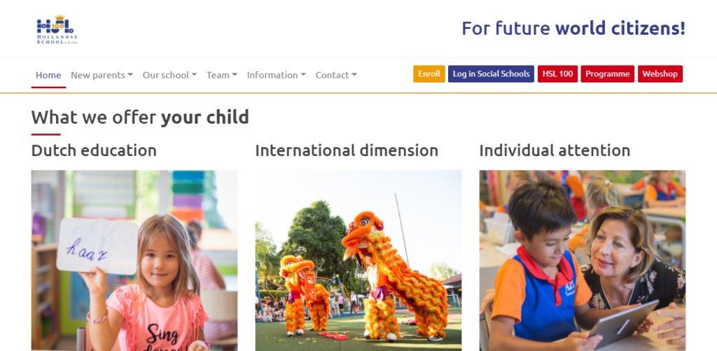 Hollandse School Top Preschools in Singapore