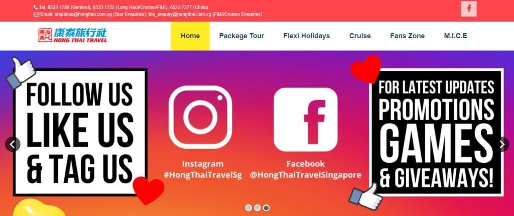HongThai Top Travel Agencies in Singapore