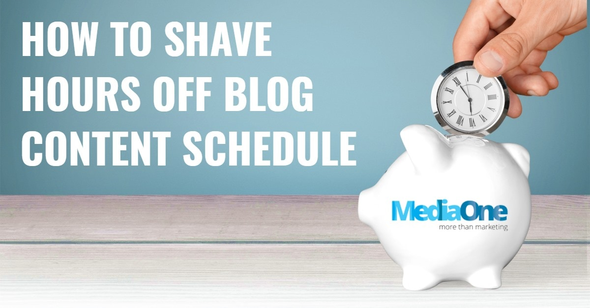 How A Professional Copywriter Shaves Hours Off Her Schedule When Creating Blog Content