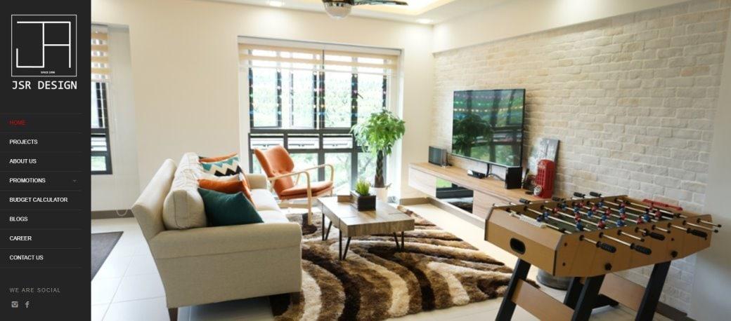JSR design Top Renovation Contractors in Singapore