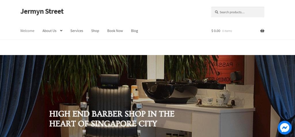 Jermyn Top Barbers in Singapore