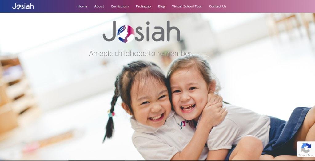 Josiah Montessori Top Preschools in Singapore