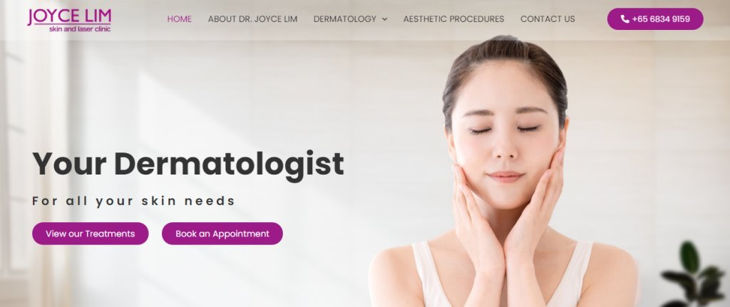 Joyce Lim Top Dermatologists in Singapore