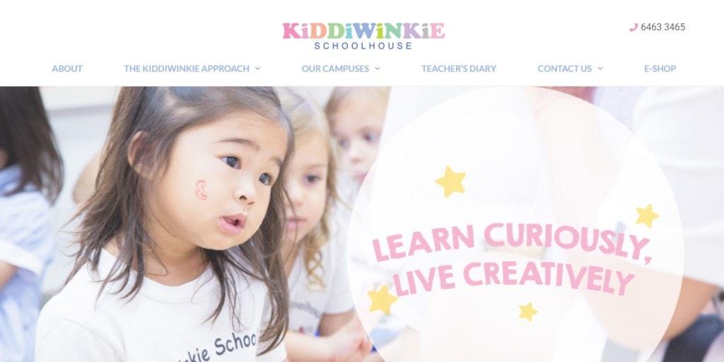 Kiddie winkie Top Kindergartens in Singapore