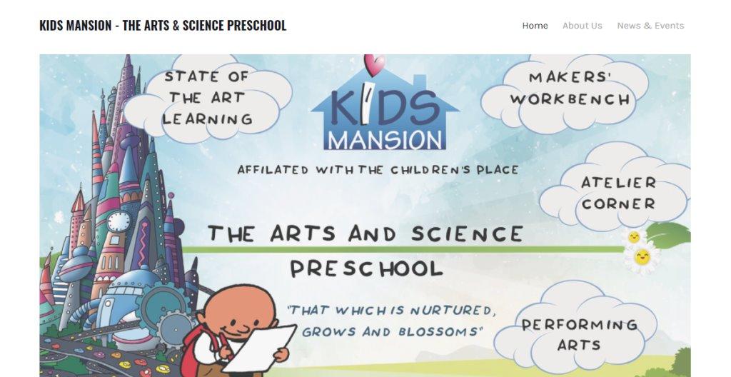 Kids Mansion Top Preschools in Singapore