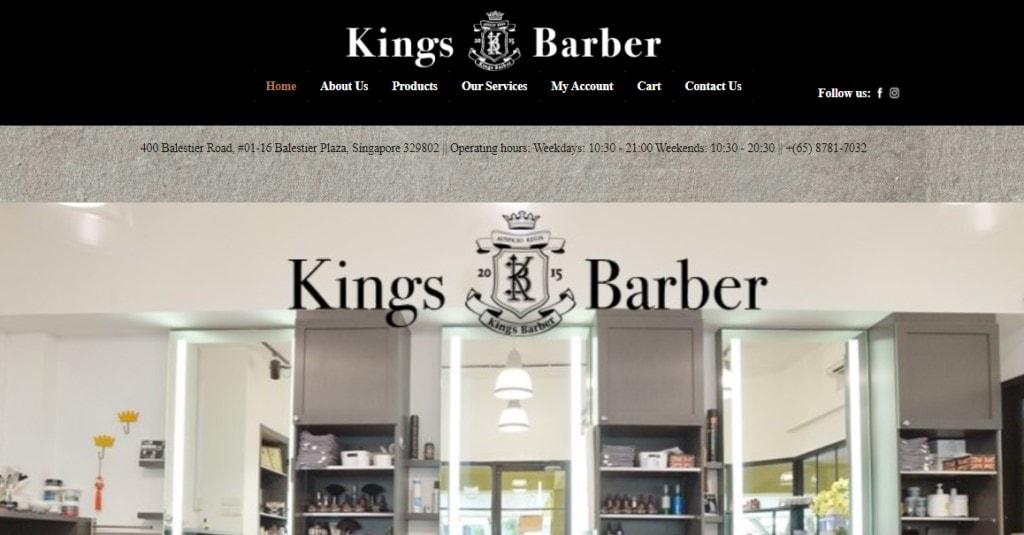 Kings Barber Top Barbers in Singapore