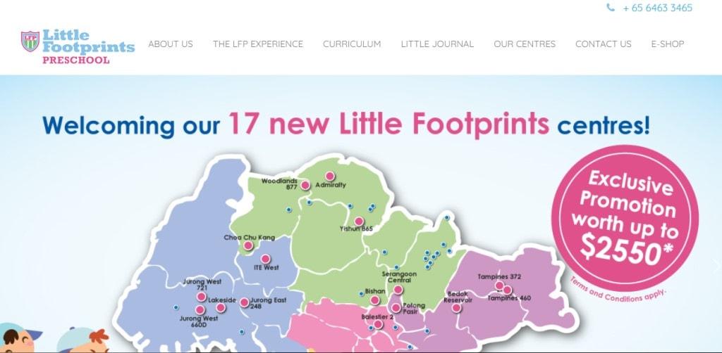 Little Footprint Top Preschools in Singapore