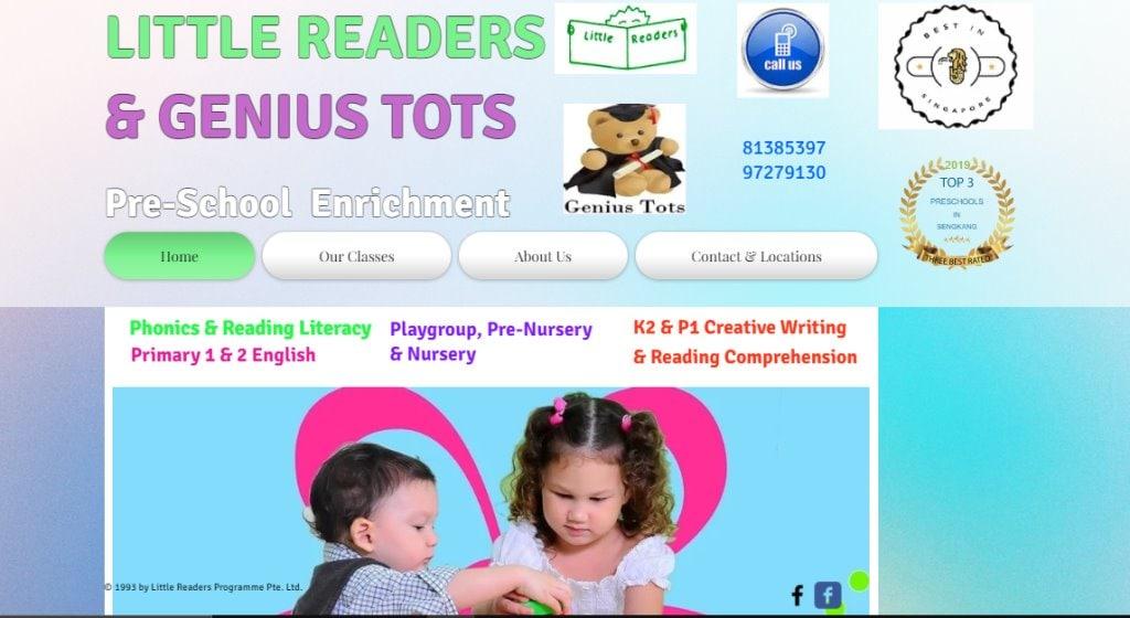 Little Readers Top Preschools in Singapore