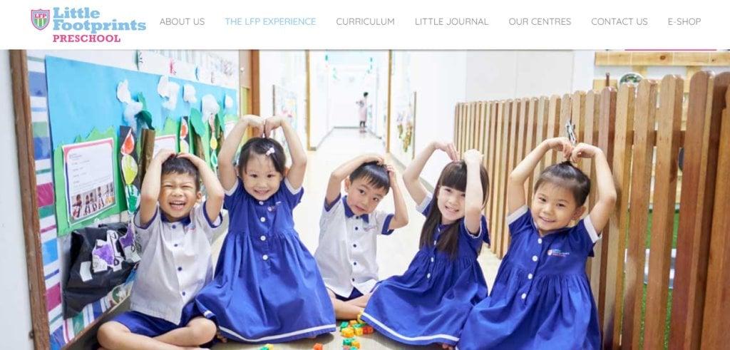 Little footprints Top Kindergartens in Singapore