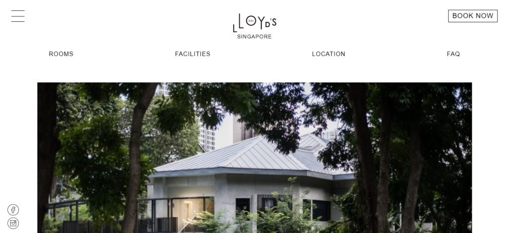 Lloyd's SG Top Boutique Hotels in Singapore