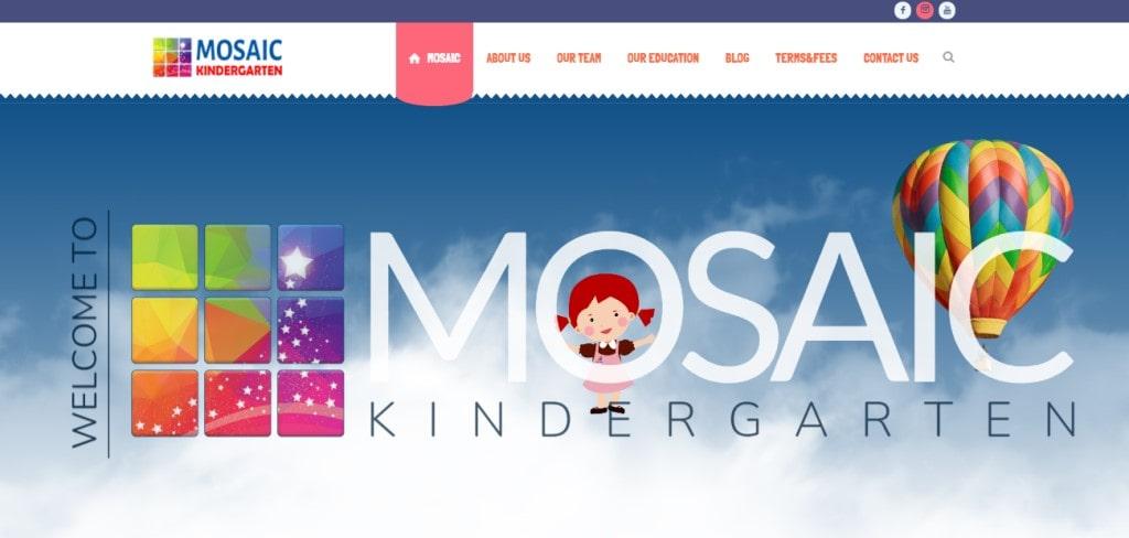Mosaic Top Kindergartens in Singapore