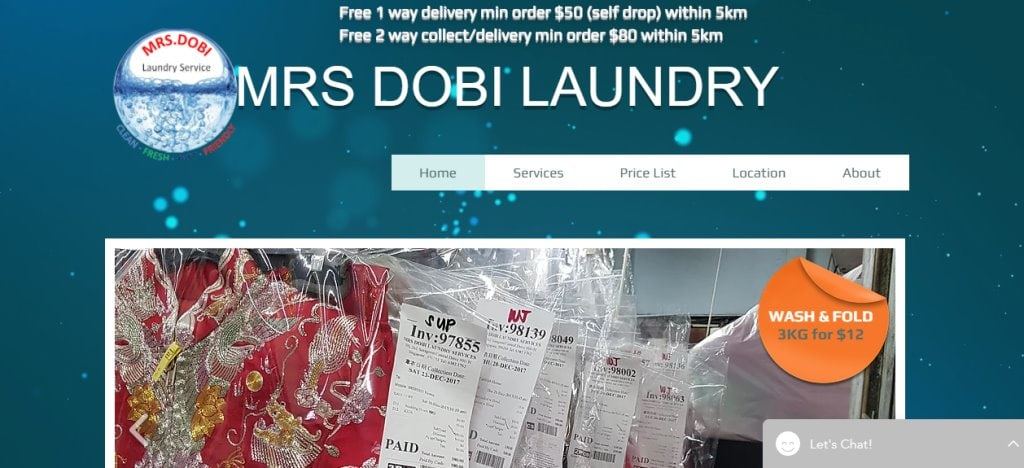 MrsDoby Top Dry-Cleaning Services in Singapore
