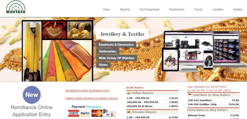 Mustafa Top Travel Agencies in Singapore