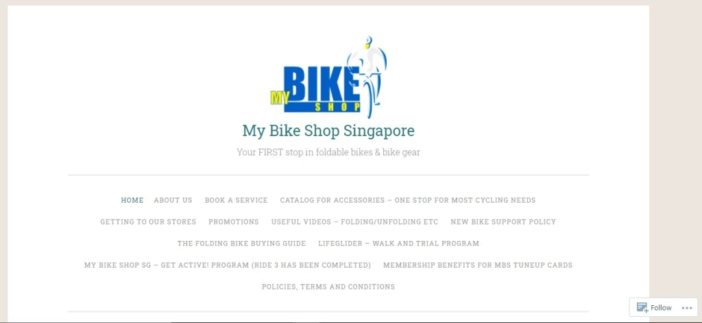 My Bike Shop Top Bicycle Shops in Singapore