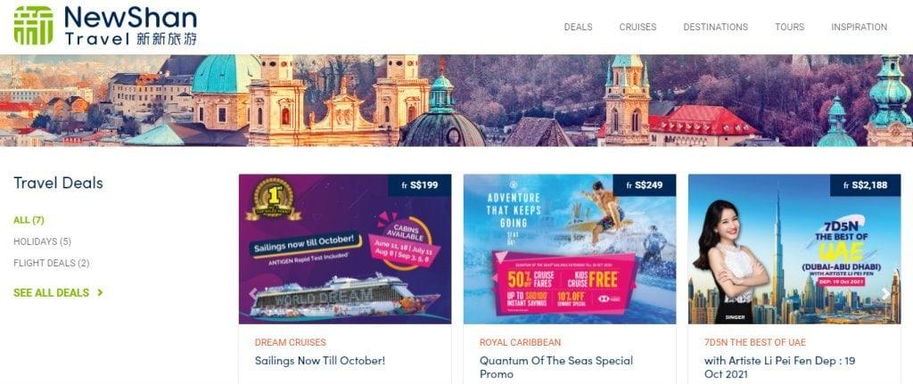 NewShan Top Travel Agencies in Singapore