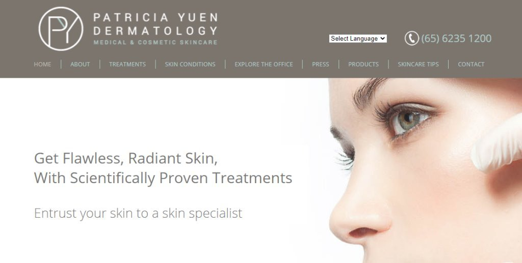 Patricia Yuen Top Dermatologists in Singapore