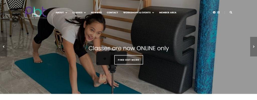 Pilates Body Tree Top Pilates Classes in Singapore