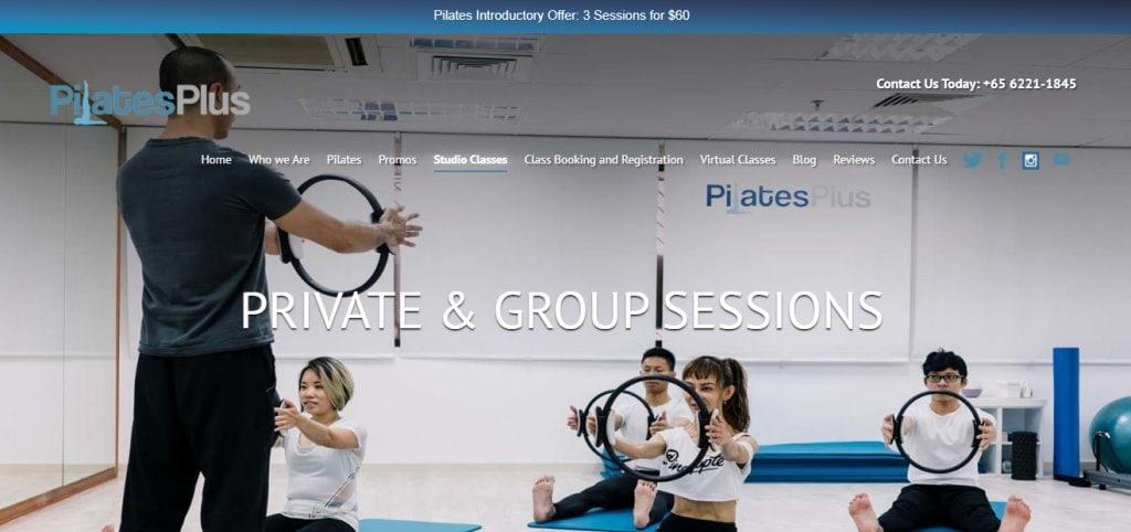 Pilates Plus Top Pilates Classes in Singapore