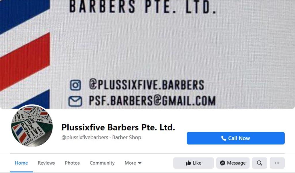 Plussixfive Top Barbers in Singapore