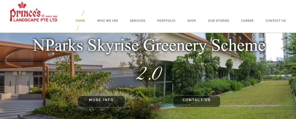 Prince's Landscape Top Landscaping Services In Singapore