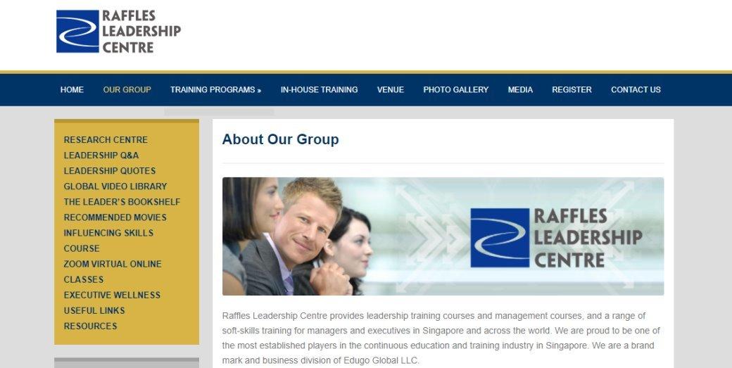 Raffles Top Sales Training Courses in Singapore