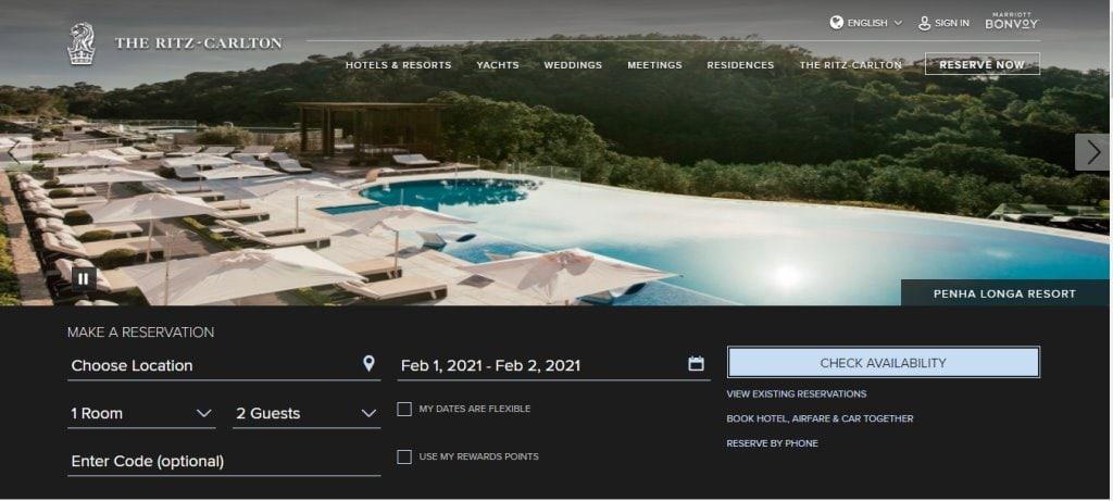 Ritz Carlton Top Hotels in Singapore
