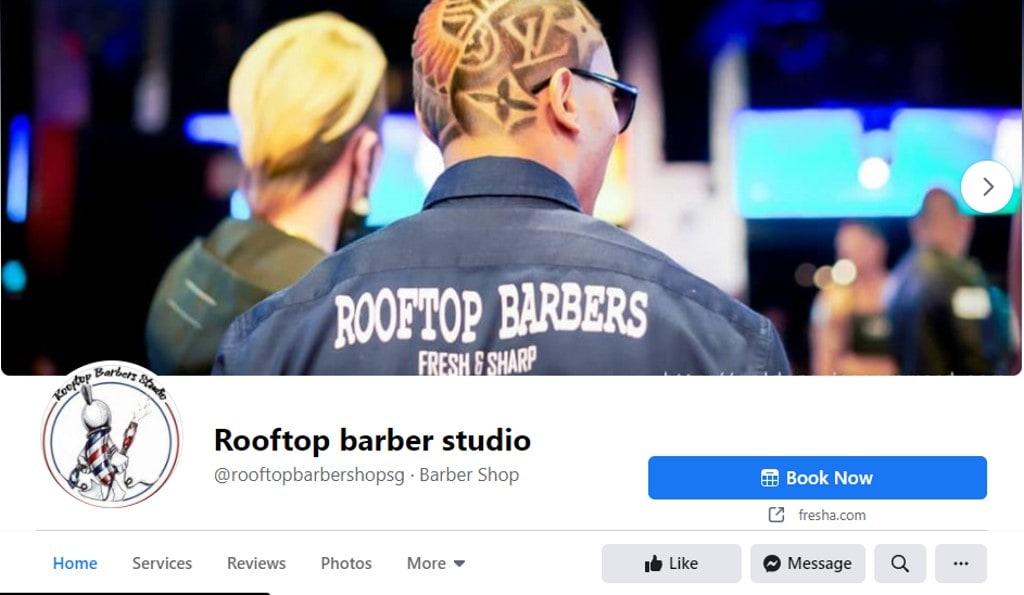 Rooftop Barbers Top Barbers in Singapore