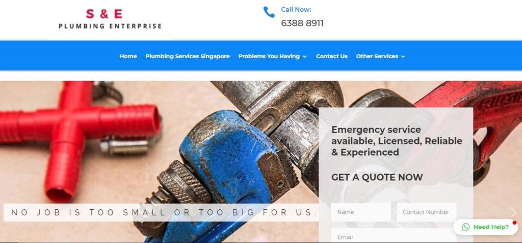 S & E Plumbing Top Plumbers in Singapore
