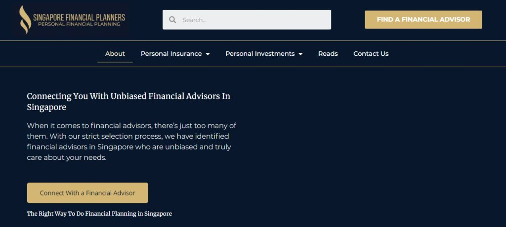 SG Financial Planner Top Financial Services Companies in Singapore