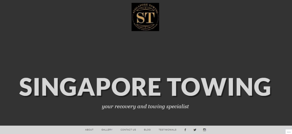SG Towing Top Towing Services in Singapore