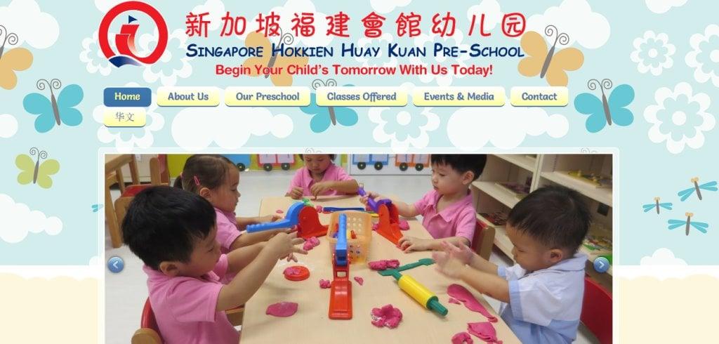 SHHK Top Preschools in Singapore