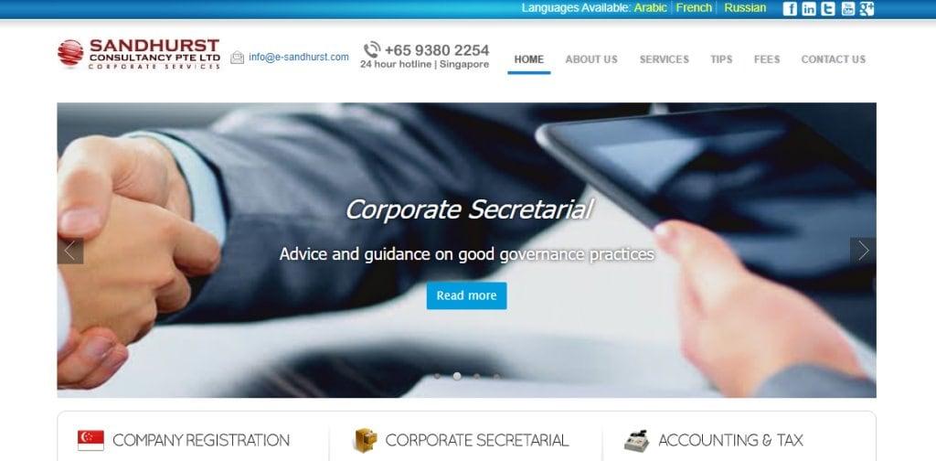 Sandhurst Top Management Consultancy Firms in Singapore