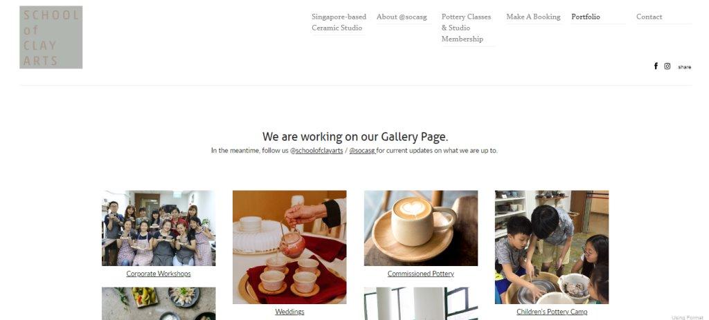 School of Clay Arts Top Art Classes in Singapore