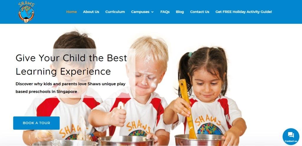 Shaws Top Preschools in Singapore