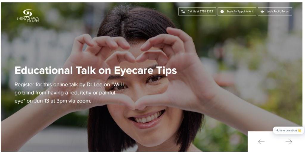 Shinagawa Eye Center Top LASIK Services in Singapore