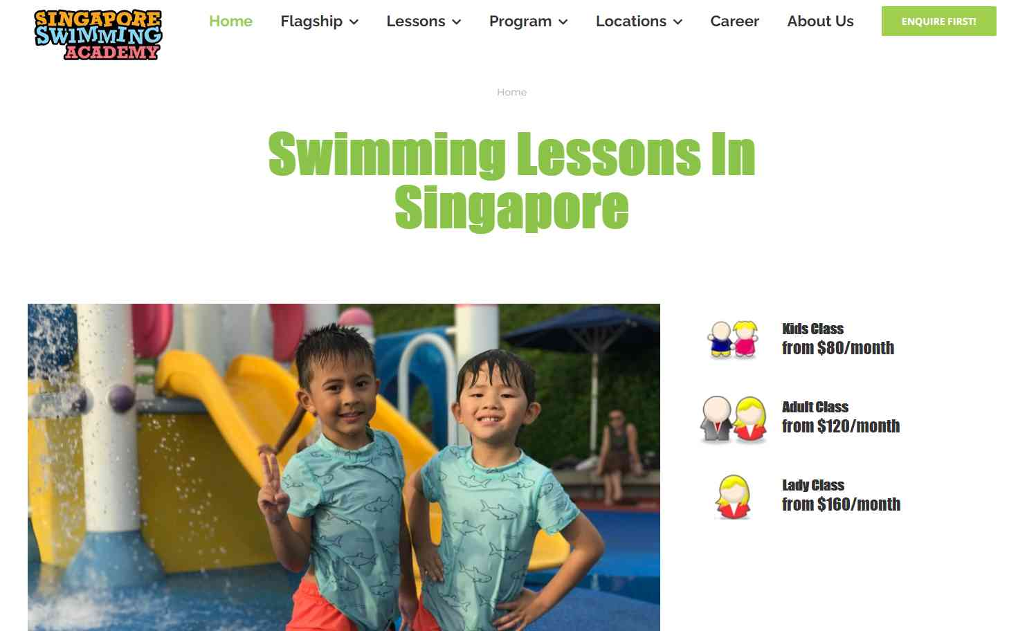 Singapore Swimming Academy Top Swimming Schools in Singapore