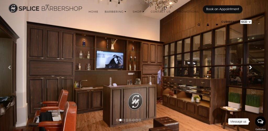 Splice Top Barbers in Singapore
