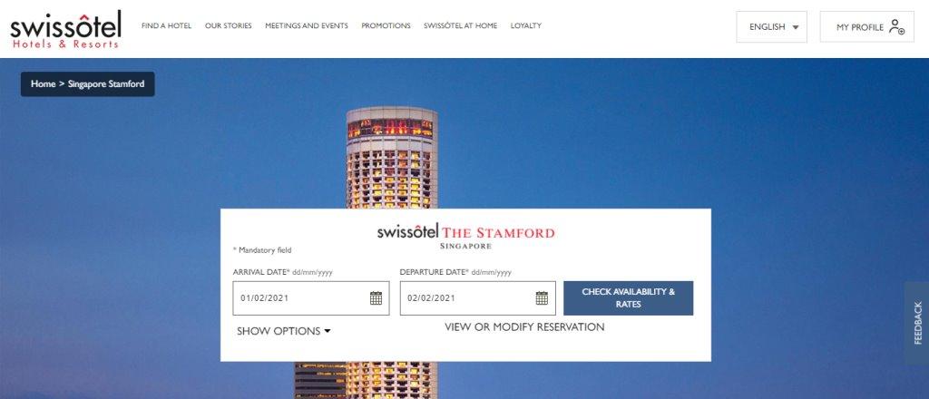 Swissotel Top Hotels in Singapore
