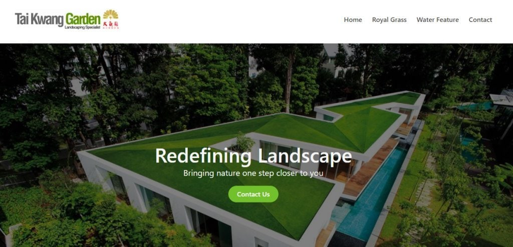 Tai Kwang Top Landscaping Services In Singapore