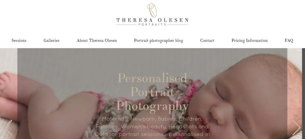 Theresa Olsen Top Photography Studios in Singapore