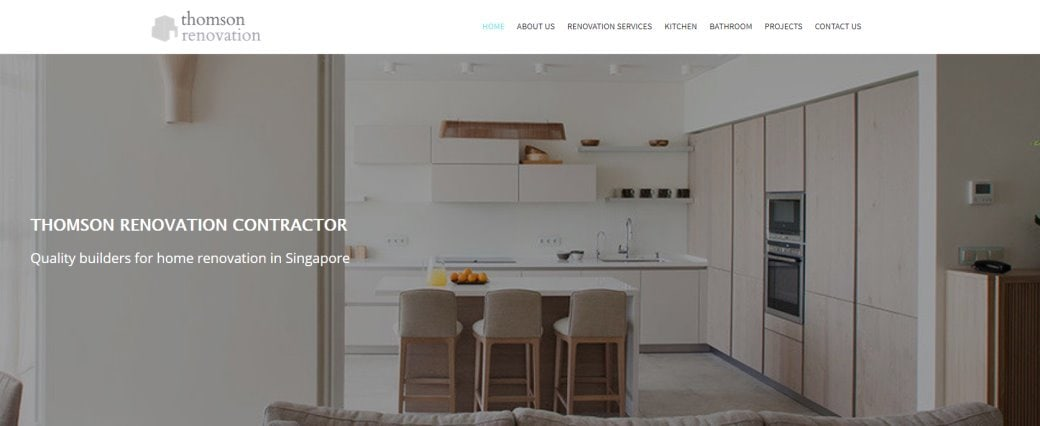 Thomson Reno Top Renovation Contractors in Singapore