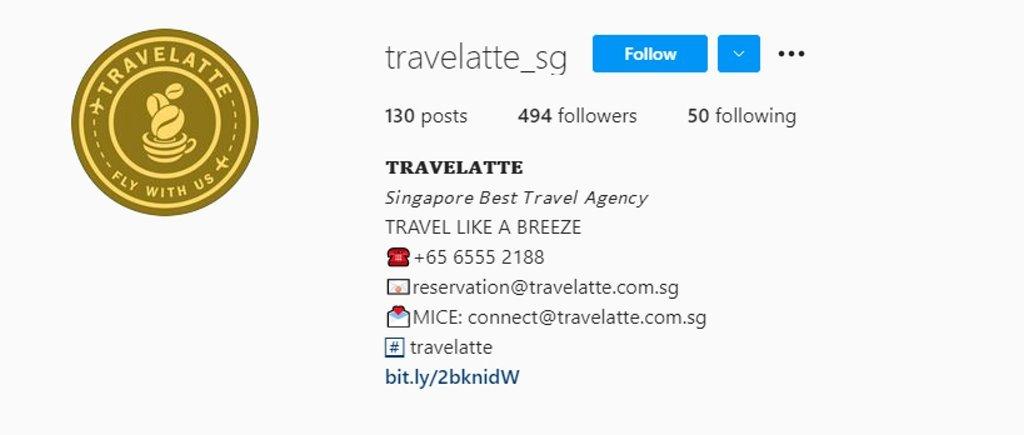 Travelatte Top Travel Agencies in Singapore