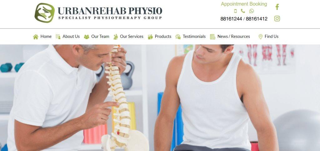 Urban Rehab Physio Top Podiatrists in Singapore