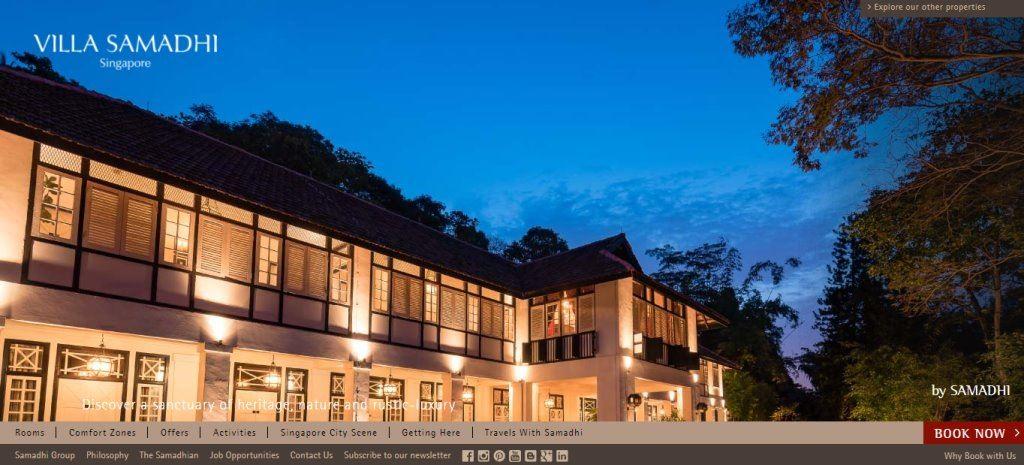 Villa Samadhi Top Boutique Hotels in Singapore